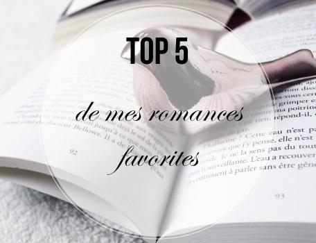 top-5-de-mes-romances-favorites