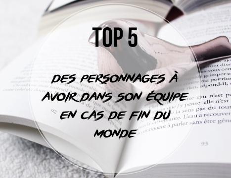 TOP 5... EQUIPE APOCALYPSE