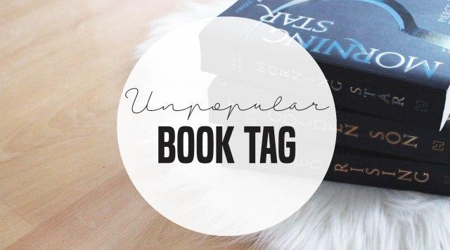 unpopular book tag